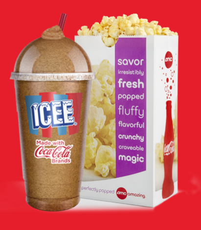 AMC Theaters: ICEE and popcorn for just $5 with valid student ID