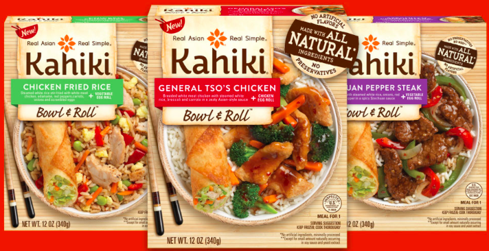 Walmart: Kahiki Bowl & Roll Entrees just $1.41!