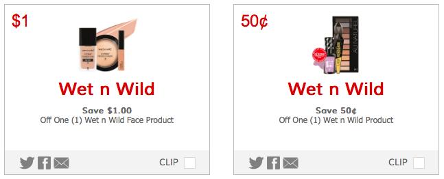 NEW Wet 'n Wild Printable Coupons = Eyeliner just $0.44 at Target, plus more!
