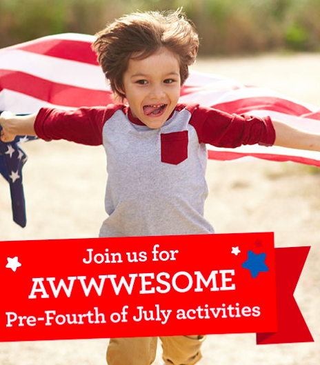 Toys R Us: Free Pre-Fourth of July Party Event on June 25, 2017