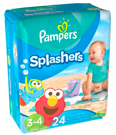 Target: Pampers Splashers Disposable Swim Pants for just $2.29!