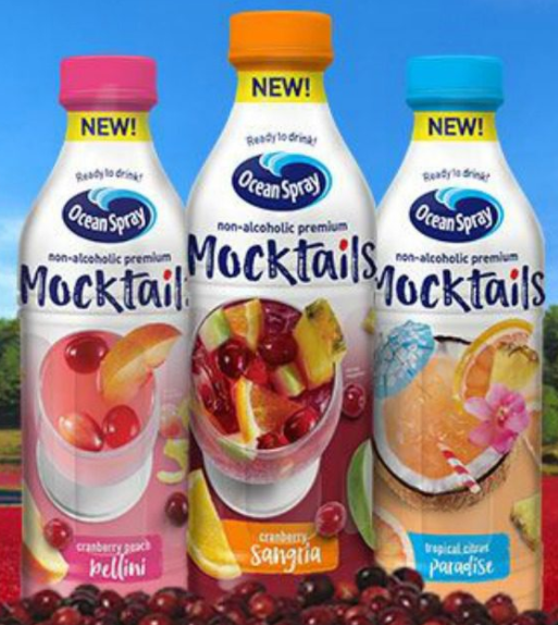 Kroger Free Friday Download: Ocean Spray Mocktails Juice