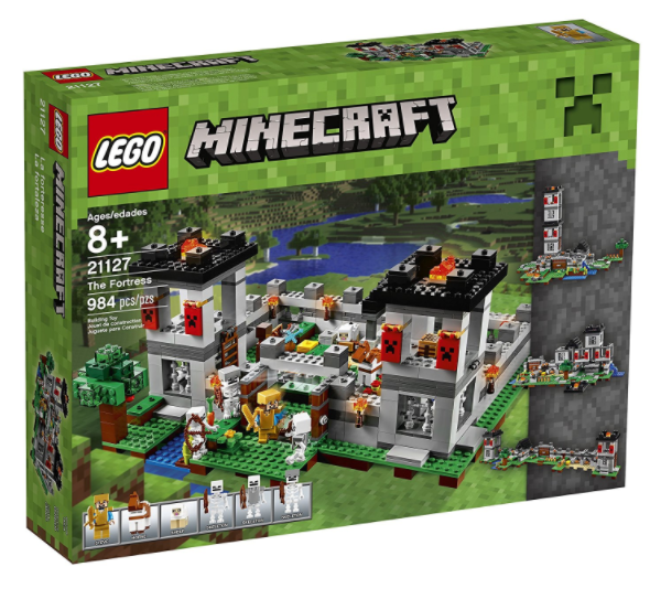 LEGO Minecraft The Fortress Building Kit for just $67 shipped!