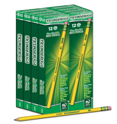 Amazon.com: Ticonderoga Pencils, 96-count for just $10.19!