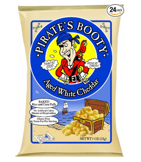 Amazon.com: Pirate's Booty Aged White Cheddar Snacks for just $11.39 shipped!