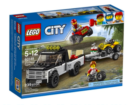 Amazon.com: LEGO City ATV Race Team Set for just $12.79!
