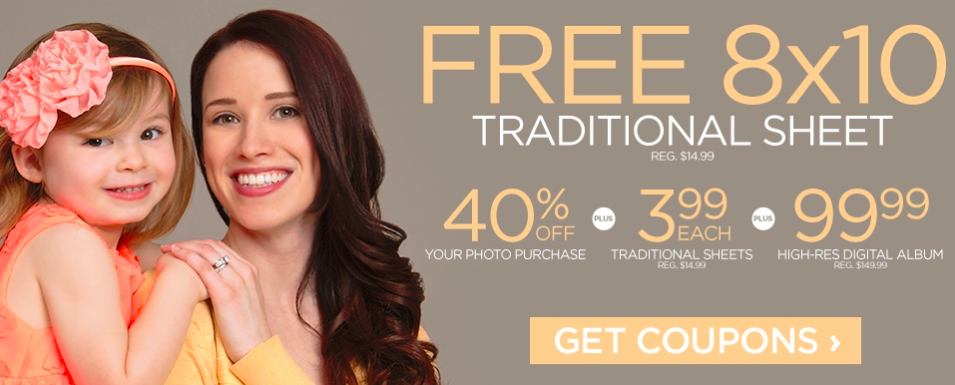 JCPenney Portrait Studios: Free 8x10 Traditional Sheet