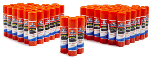 Amazon.com: Elmer's All Purpose School Glue Sticks (60 count) for just $10.85!