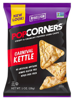 Amazon.com: PopCorners Gluten Free Carnival Kettle Chips, 18 count just $6.23!