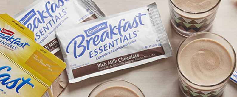 Free Carnation Breakfast Essentials Drink Mix Sample