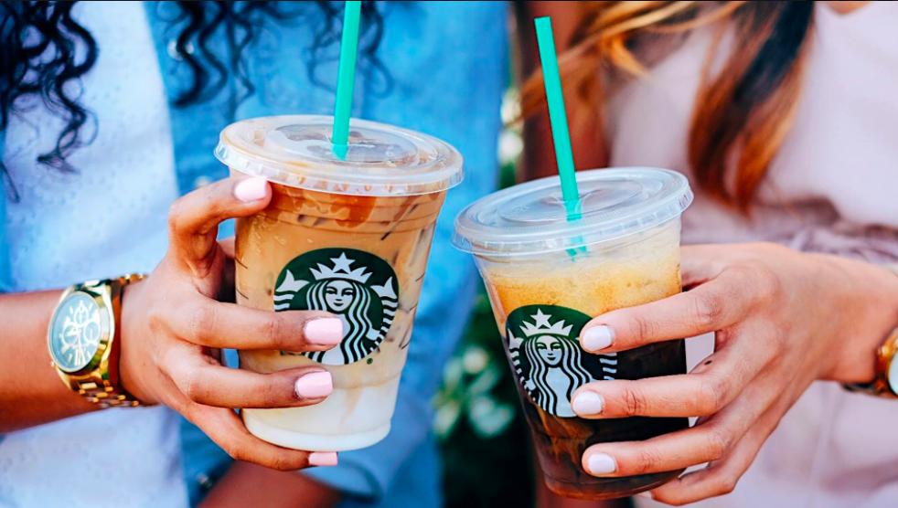 Starbucks: Buy one, get one free grande iced espressos!