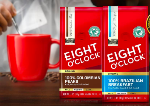 Target: Eight O'Clock Coffee for just $3.23