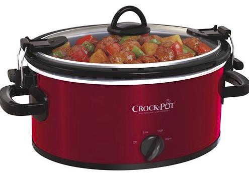Best Buy: Crock-Pot 4-Quart Oval Slow Cooker just $17.99!