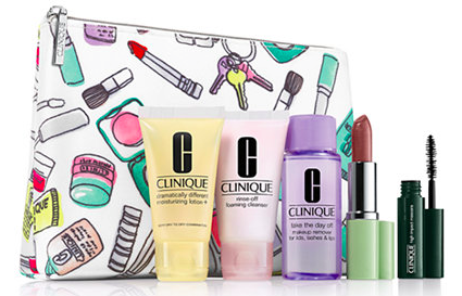 Macy's.com: Clinique 6-Piece Set just $10 + Free $10 Credit + Free Shipping!