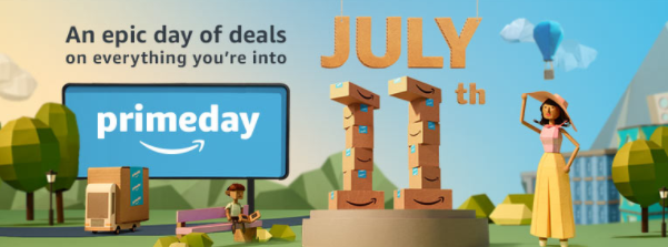 Amazon Prime Day is coming + get a FREE $10 Amazon credit to spend!