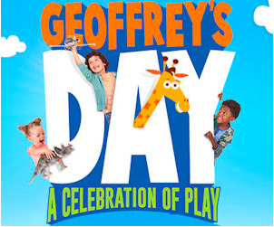 Toys R Us: Free Geoffrey's Day Event on July 15, 2017