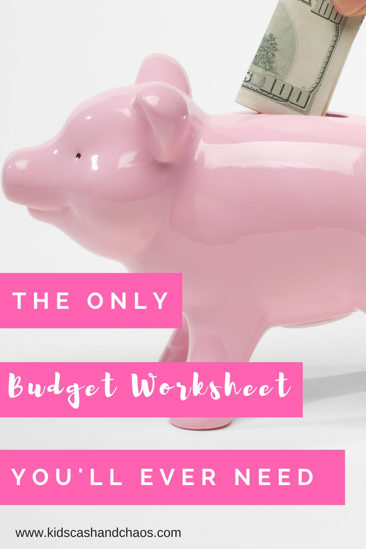 Free Printable Bi-Weekly Budget Worksheet