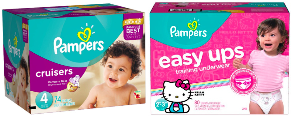 Target: Get Pampers Cruisers & Easy Ups Super Packs for just $12.64!