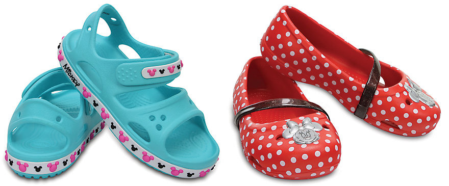 Crocs.com: Up to 50% off Select Shoes + Extra 25% off = Disney Kids Crocs only $14.99!