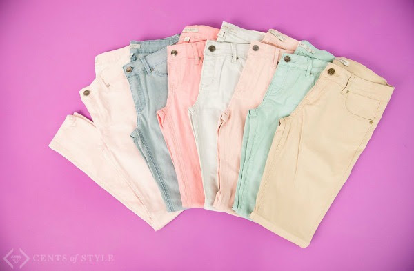 Cents of Style: Get women's colored skinny jeans as low as $24.95 shipped!