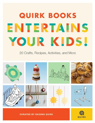 Free eBooks: Quirk Books Entertains Your Kids, Fun Lunch Box Recipes for Kids, A Treasure Concealed, plus more!