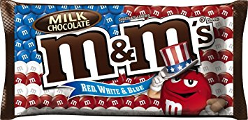 Target: M&M's Red, White, & Blue Bags only $0.29 each!