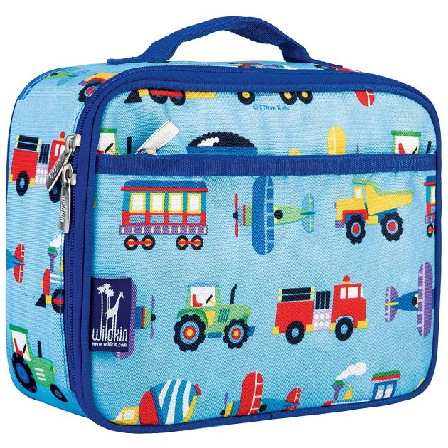 Amazon.com: Olive Kids Trains, Planes & Trucks Lunch Box only $8.59!
