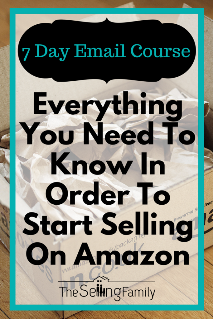 Free eCourse: How to Make Money from Home with an Amazon FBA Business