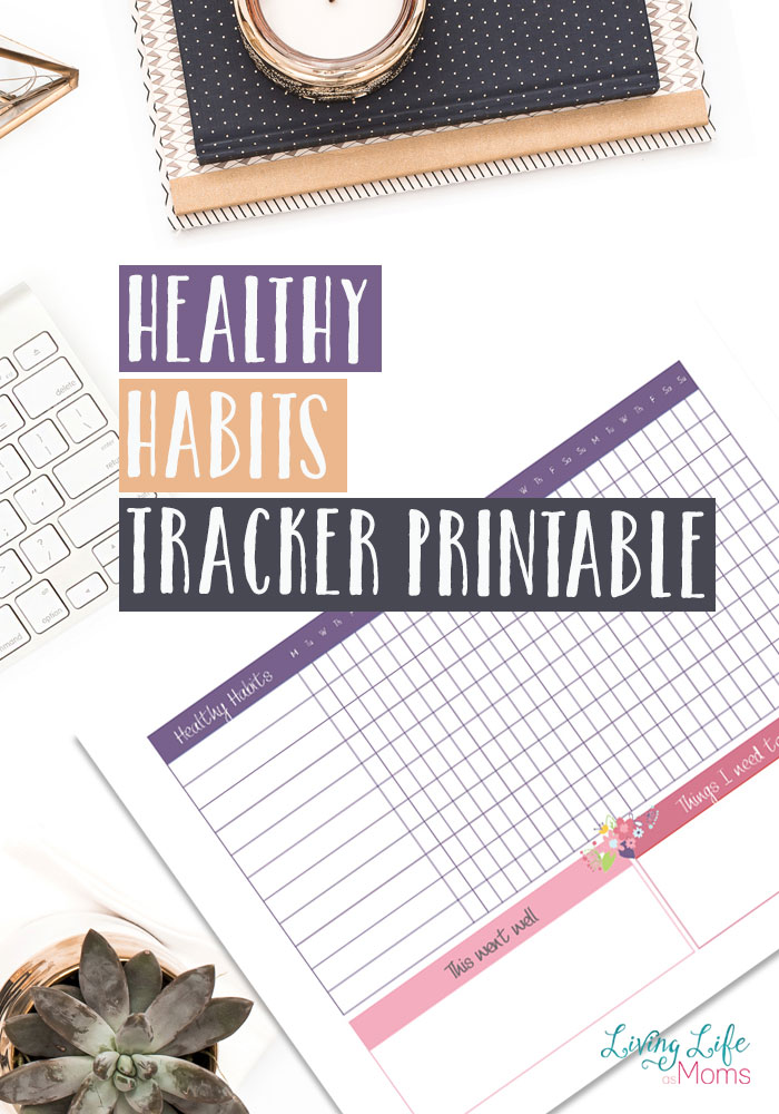 Free Printable Healthy Habits Tracker