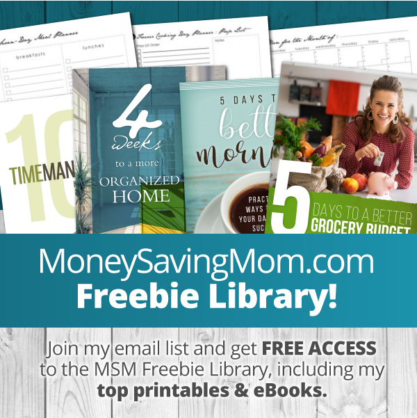 Best Freebies from MoneySavingMom library