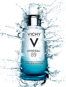 Free sample of Vichy Mineral 89 Hyaluronic Acid Moisturizer