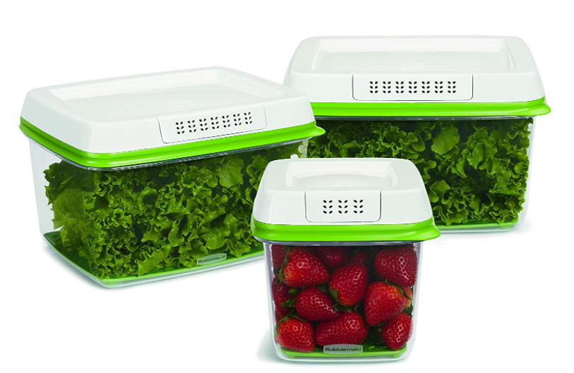 Amazon.com: Rubbermaid FreshWorks Produce Saver Container Set for just $19.98!