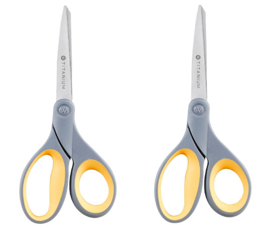 Amazon.com: Westcott 8-inch Titanium Bonded Scissors only $3.15 each!