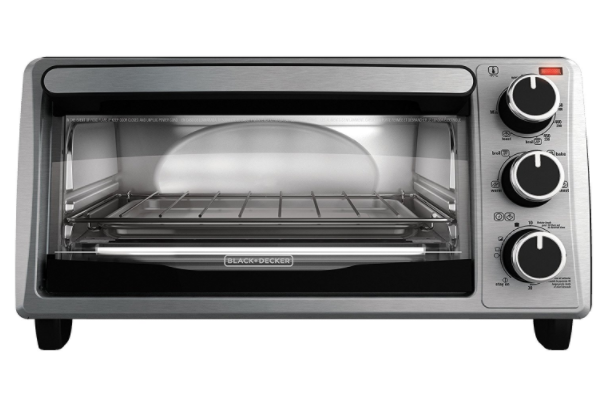 Prime Day Deal: Black + Decker 4-Slice Toaster Oven for just $19.99 shipped!