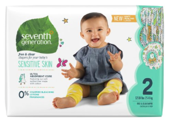 Prime Day Deal: Extra 40% off Seventh Generation Products = Diapers as low as $0.10 each shipped!