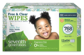 Prime Day Deal: Extra 40% off Seventh Generation Products = Diapers as low as $0.10 each shipped, plus more!