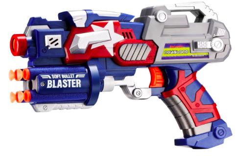 Amazon.com: Newisland Big League Blaster Gun with Foam Darts and Dartboard just $8.99!