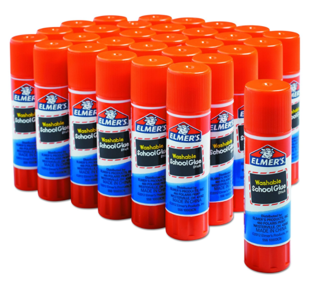 Amazon.com: Elmer's All Purpose School Glue Sticks, 30 count for just $7.88 shipped!