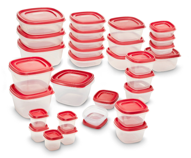 Get the Rubbermaid Easy Find Lids Food Storage Container 60-Piece Set for just $27.19 shipped!