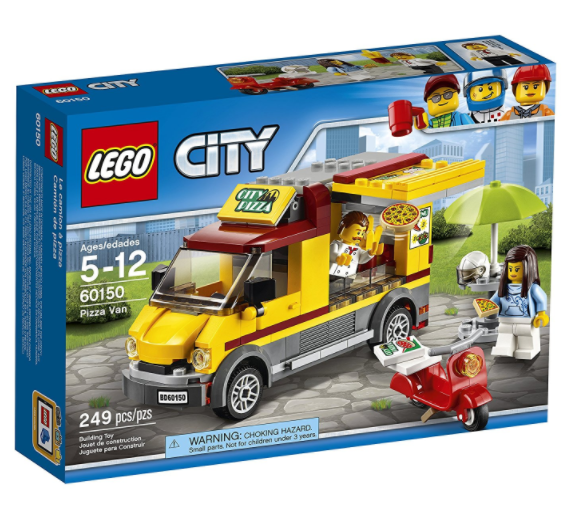 Amazon.com: LEGO City Great Vehicles Pizza Van Construction Toy for just $15.99!