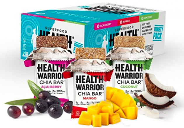 Amazon.com: HEALTH WARRIOR Gluten Free Chia Bars (15 count) only $9.74 shipped!