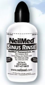 Free NeilMed Sinus Rinse + two mixture packets