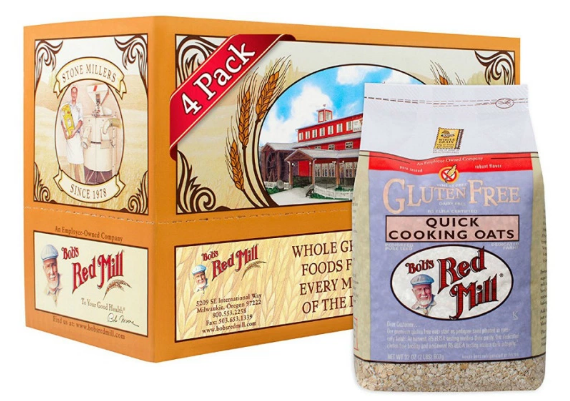 Amazon.com: Bob's Red Mill Gluten Free Quick Oats for just $4.09 per pack, shipped!