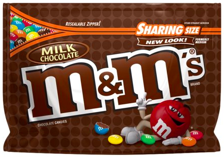 Target: M&M's Sharing Size only $0.49!