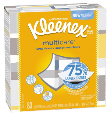 Target: Get Kleenex MultiCare Tissues for only $0.25!
