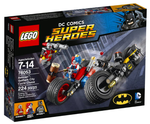 Amazon.com: LEGO Super Heroes Batman: Gotham City Cycle Chase only $13.99!