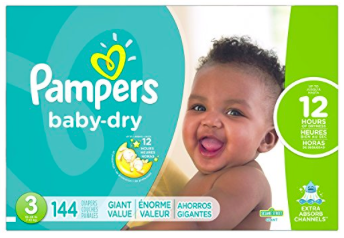 Amazon.com: Pampers Baby-Dry Diapers Size 3 just $0.12 per diaper, shipped!