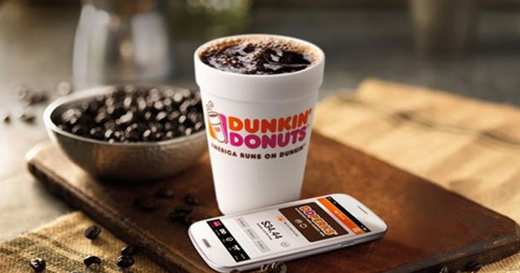 Dunkin' Donuts Perks: Free $5 bonus when you load $10 with Visa Checkout