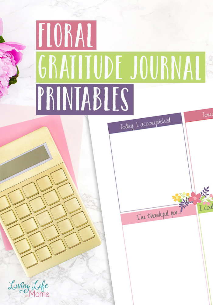 download free floral gratitude journal printables free weekly schedule printables and free daily to do list printables