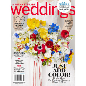 Free subscription to Martha Stewart Weddings magazine